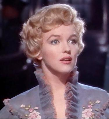 Marilyn Monroe dans le Prince et la danseuse.