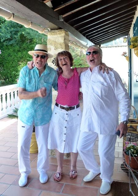 Martial, Arlette et Jean-Claude