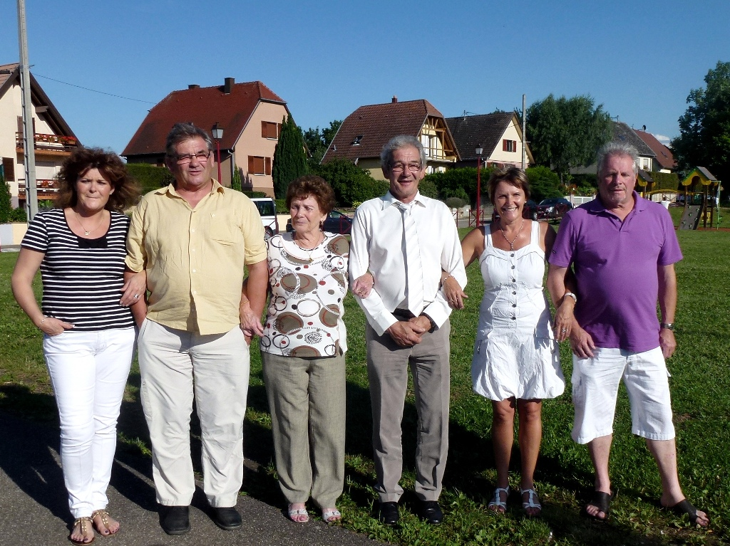 Anniversaire d'Armand, photo de famille