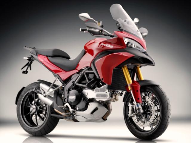 Ducati 1200 Multistrada 4motos en 1
